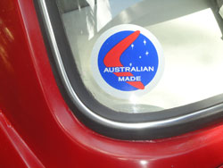 Australian Made sticker
