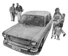 Him and Her with Morris 1100