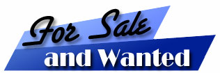 Title: For Sale and Wanted
